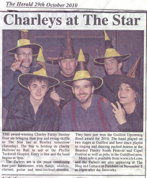 Charley Farley Sunday Four do Halloween