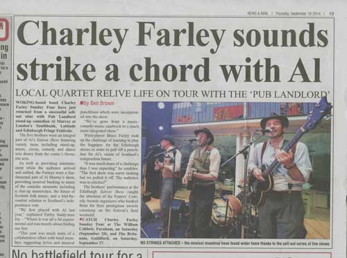 Woking News and Mail - Farleys in Edinburgh